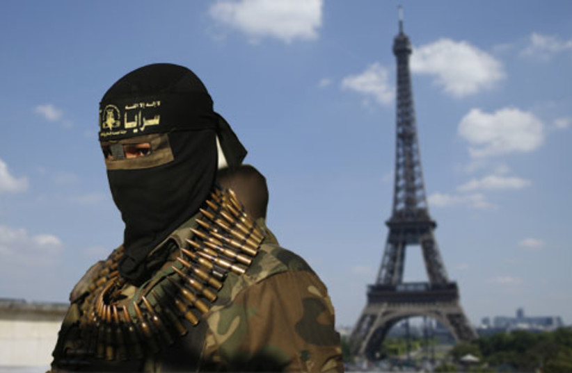 Phenomenon: French Citizens Who Fight in Syria (photo credit: REUTERS)