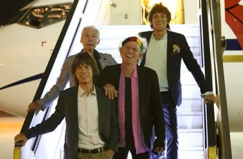 Rolling Stones arrive in IsraelAC (photo credit: ORIT PNINI)
