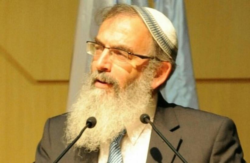 Rabbi David Stav (photo credit: COURTESY OF NACHMAN ROSENBERG)