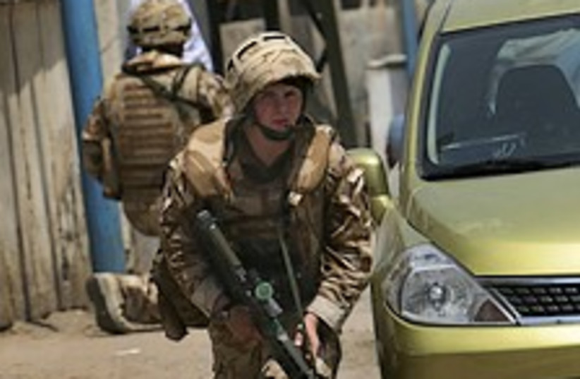 British soldier iraq 224.88 (photo credit: AP)