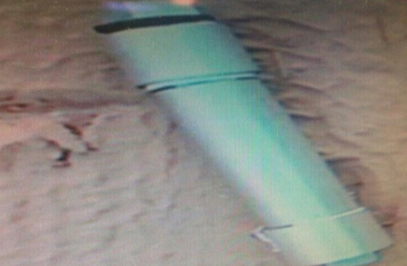 Bomb found in Bat Yam. (photo credit: POLICE SPOKESPERSON'S UNIT)