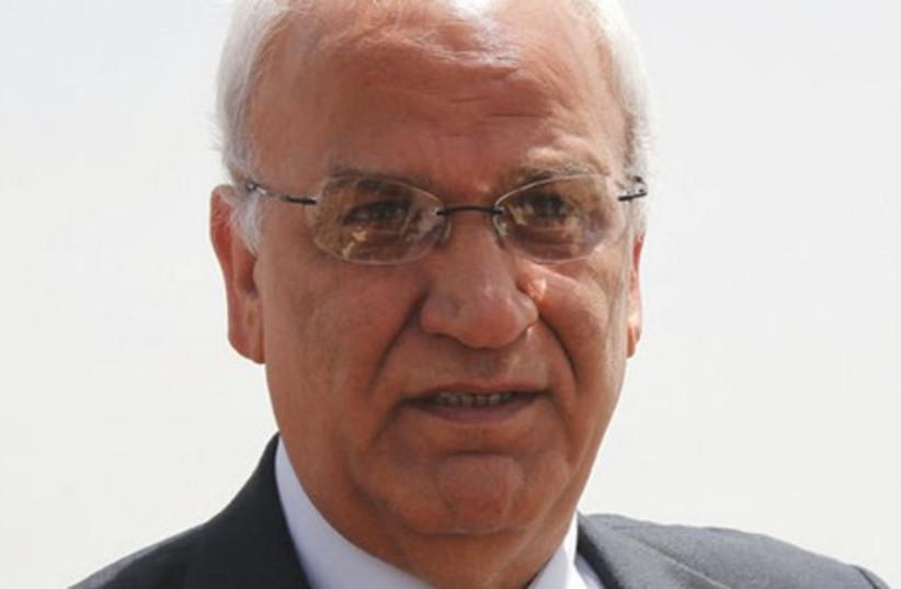 Saeb Erekat (photo credit: TOVAH LAZAROFF)