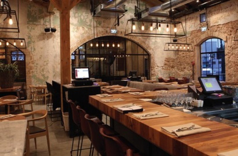 The new Claro restaurant in the Tel Aviv's new Sarona Compound was a delightful surprise (photo credit: JERUSALEM POST)