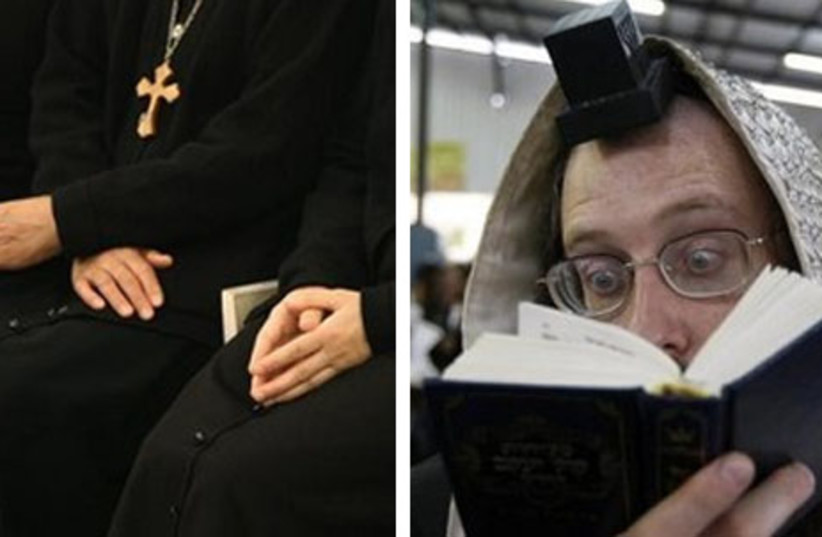 A Jew or a Christian? (photo credit: REUTERS)