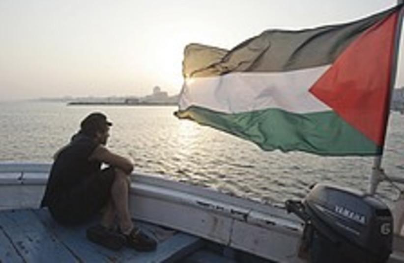 Gaza activist boat 224.88 (photo credit: AP)