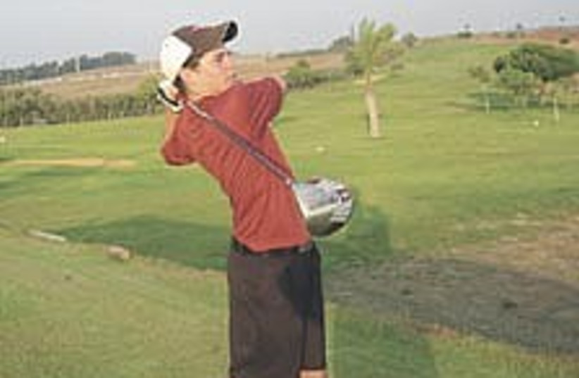 friedrich golf 224.88 (photo credit: Courtesy)