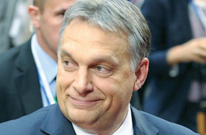 Viktor Orban (photo credit: REUTERS)