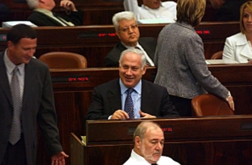 netanyahu smiles 298 (photo credit: Ariel Jerozolimski)