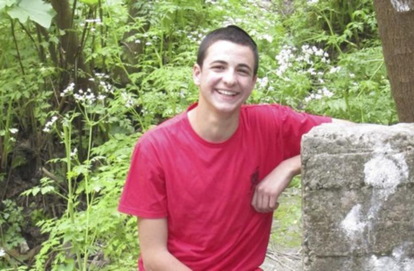 Missing yeshiva student Gil-Ad Shaer (photo credit: REUTERS)
