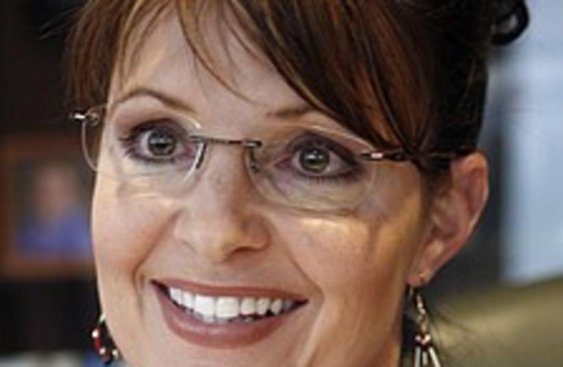 Sarah Palin 224.88 (photo credit: AP)