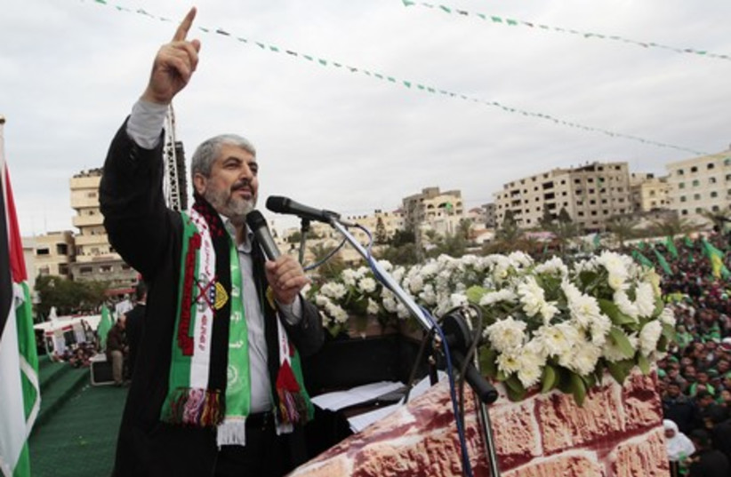 Khaled Mashaal (photo credit: REUTERS)