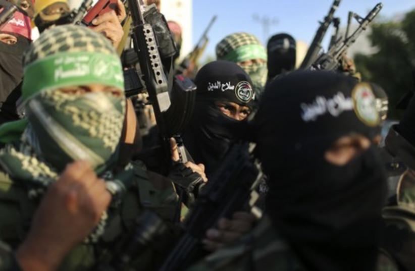 Hamas (photo credit: REUTERS)