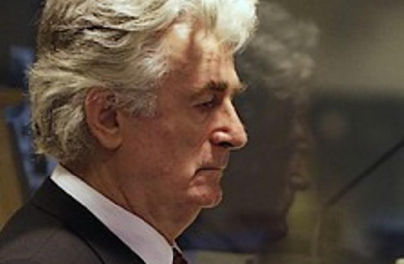 Karadzic court 224.88 (photo credit: AP)