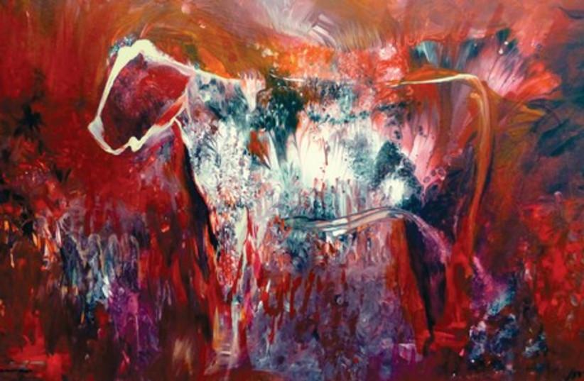 The red heifer paradox (photo credit: YORAM RAANAN)