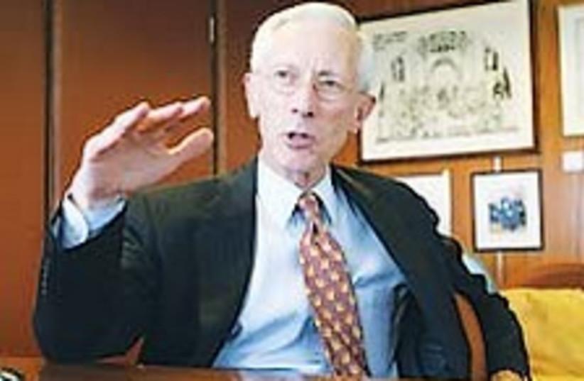 Stanley Fischer (photo credit: Ariel Jerozolimski [file])