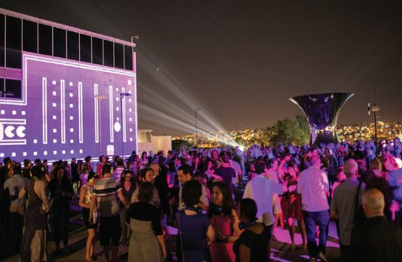 Contact Point is the opening item of this year's Jerusalem Season of Culture (photo credit: Courtesy)