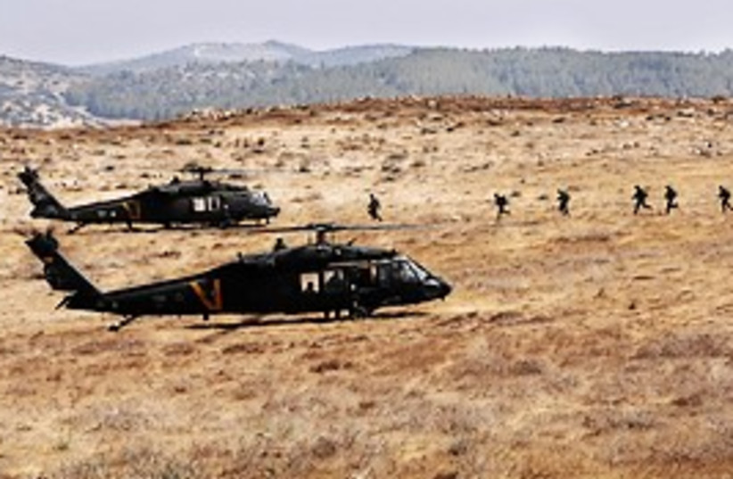 IAF helicopters 4 (photo credit: IDF)