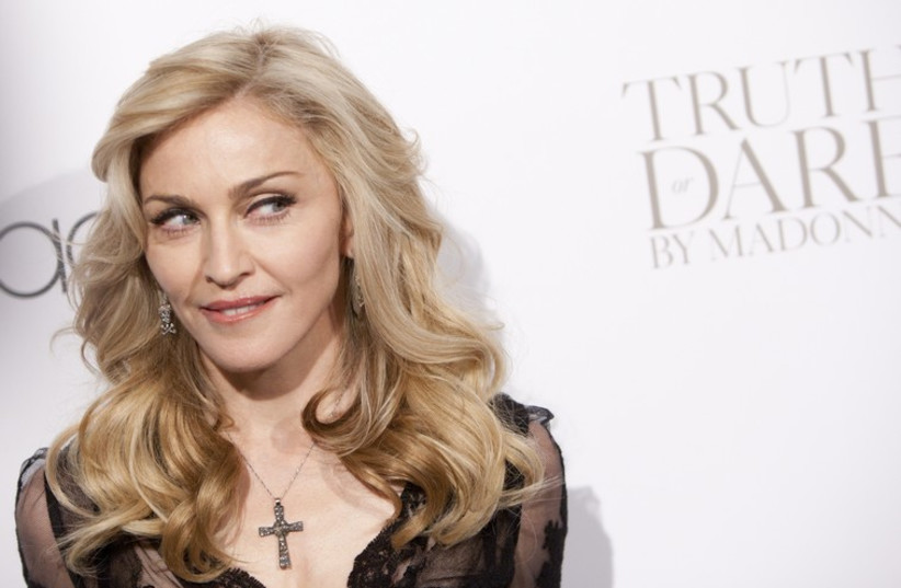 Madonna (photo credit: REUTERS)