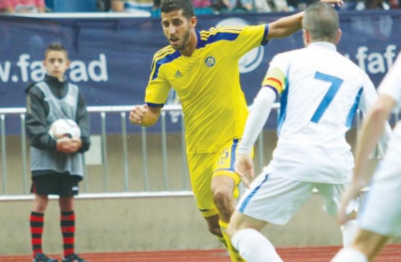 Maccabi Tel Aviv's Dor Micha (photo credit: MACCABI TEL AVIV WEBSITE)