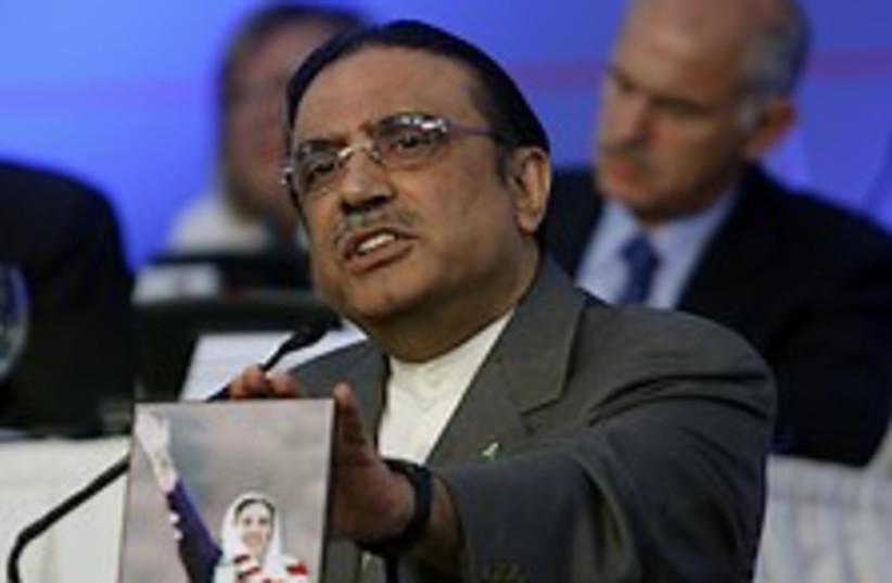 Asif Ali Zardari 224.88 ap (photo credit: AP [file])