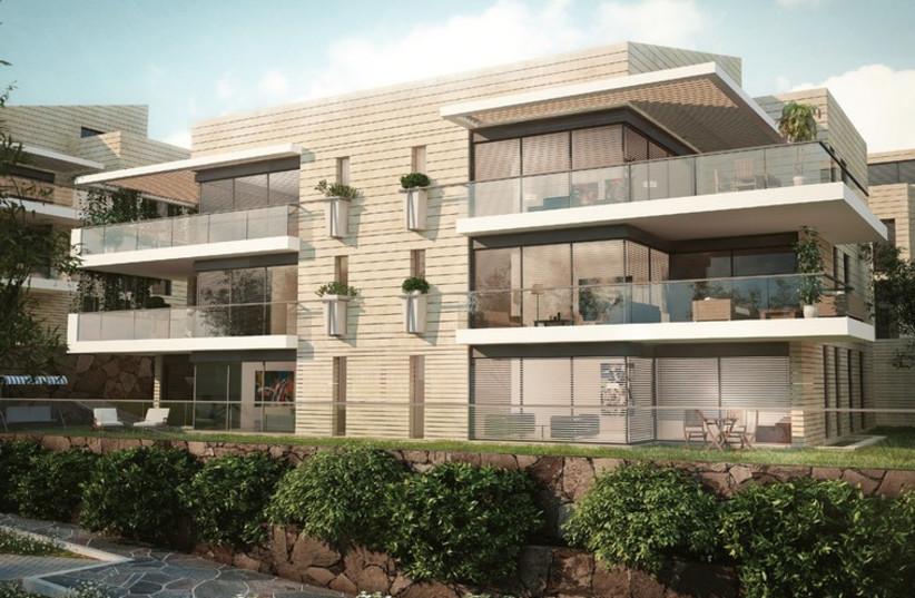 Azorim is building apartments in the sprawling Motza Illit. (photo credit: Courtesy)