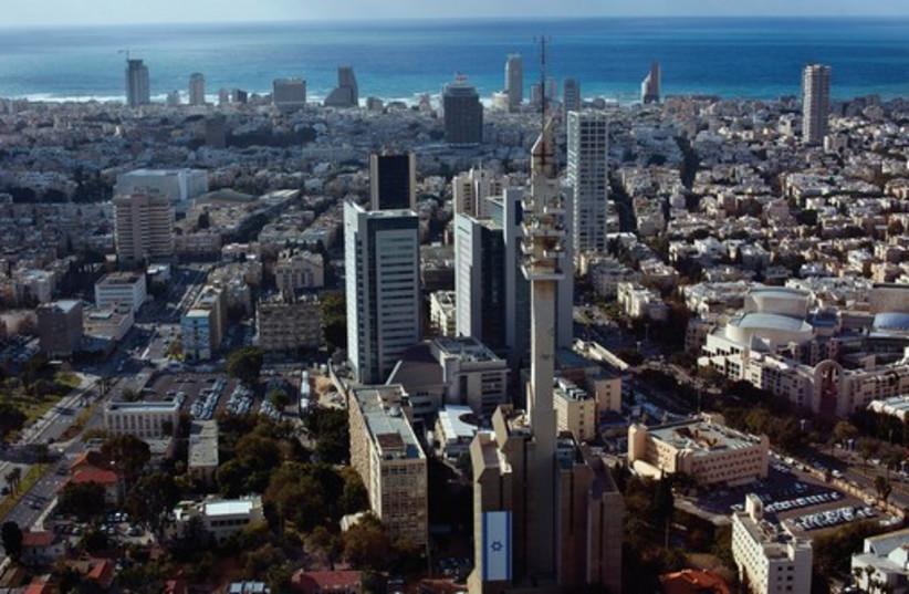 THE TEL AVIV skyline (photo credit: REUTERS)