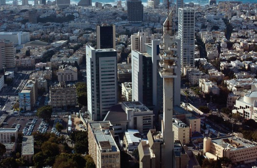 THE TEL AVIV skyline (photo credit: REUTERS)