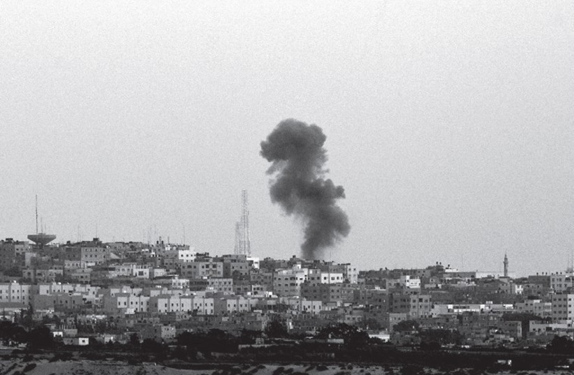 Can Hamas be defeated? (photo credit: AMIR COHEN - REUTERS)