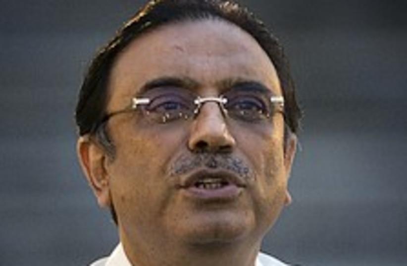 Zardari 224.88 (photo credit: AP)