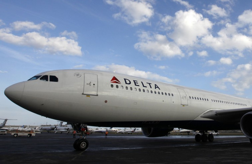 Delta airline plane (photo credit: REUTERS)