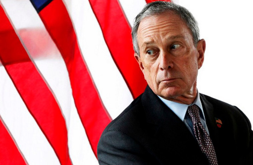 Former New York mayor Michael Bloomberg (photo credit: REUTERS)