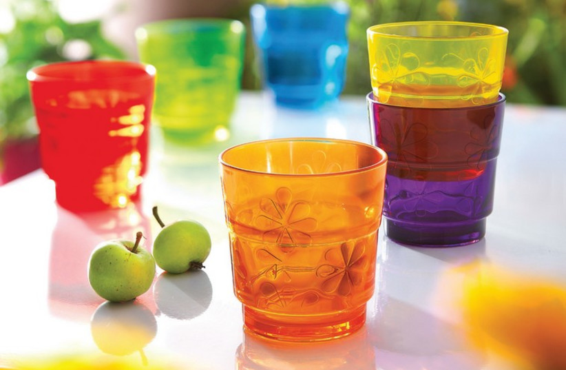 Colorful Glassware (photo credit: Courtesy)