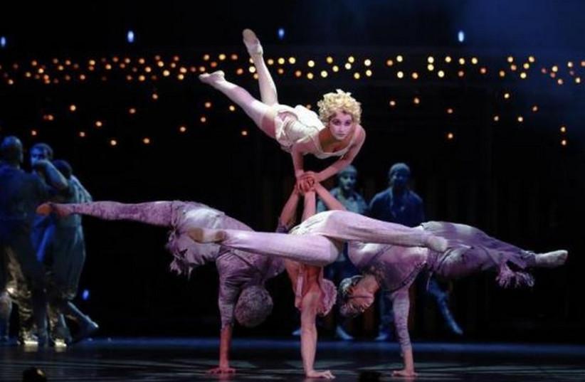 Cirque du Soleil (photo credit: REUTERS)