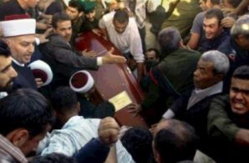 crowd arafat coffin 29  (photo credit: )