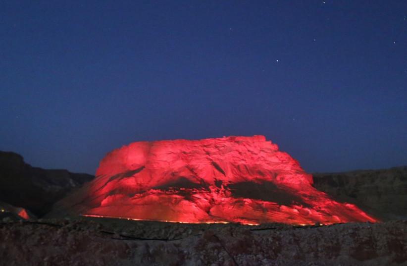 Opera at Masada (photo credit: MARC ISRAEL SELLEM/THE JERUSALEM POST)