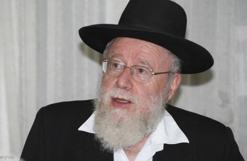 Rabbi Dov Lior (photo credit: Courtesy)