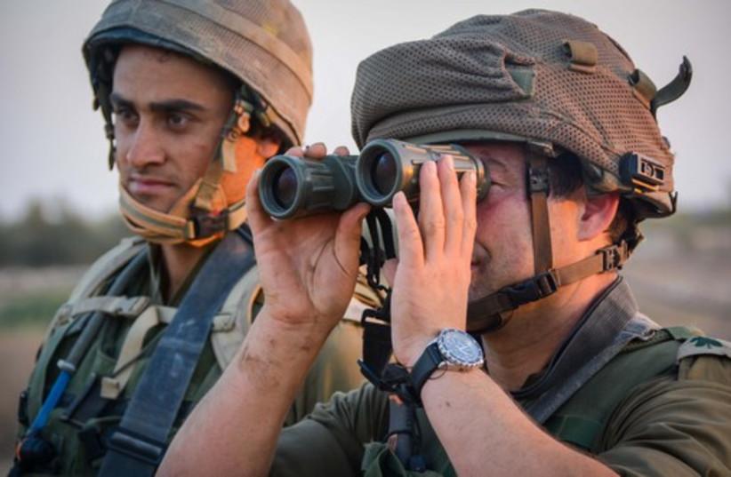 Givati brigade in Gaza (photo credit: IDF SPOKESMAN'S OFFICE)
