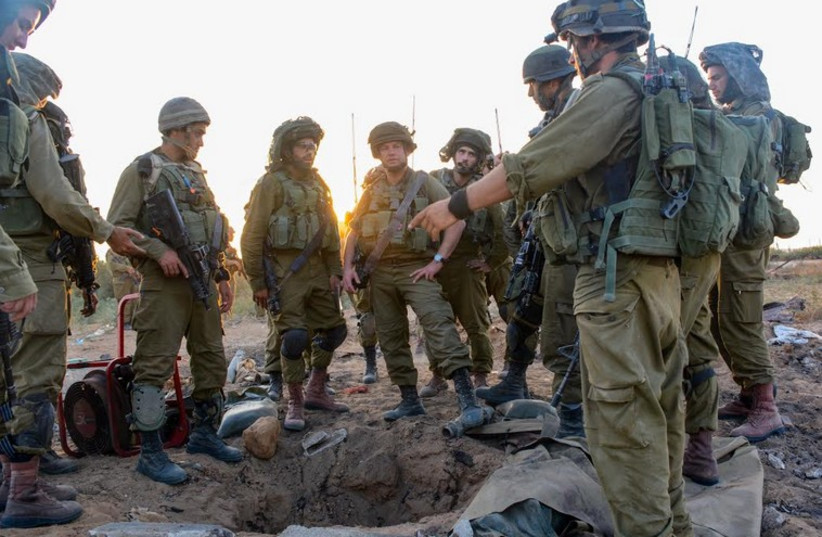 Givati brigade in Gaza (photo credit: IDF SPOKESMAN'S OFFICE)