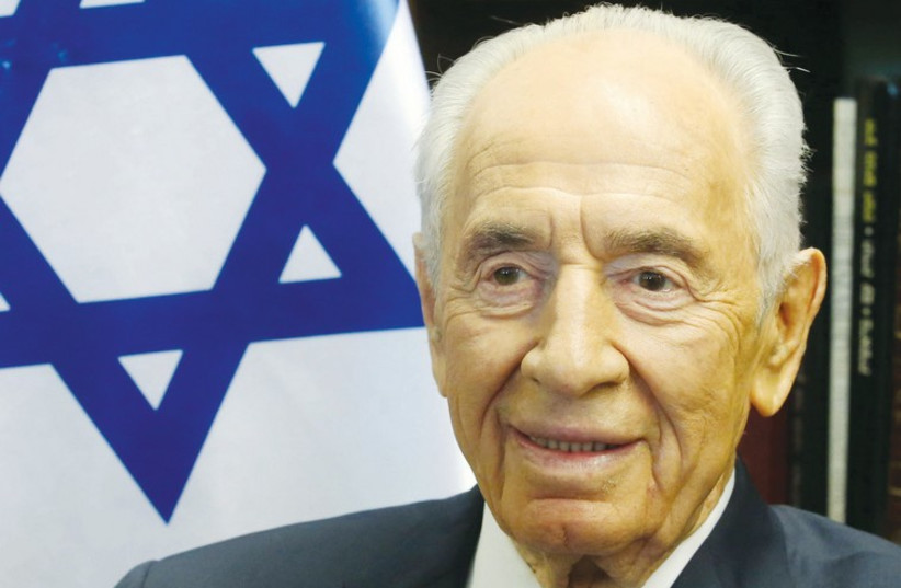 Former president Shimon Peres. (photo credit: MARC ISRAEL SELLEM/THE JERUSALEM POST)