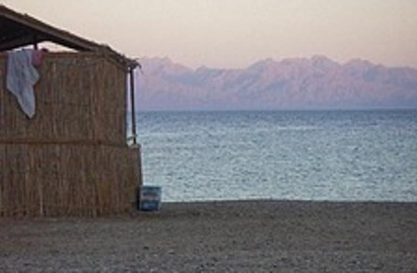 sinai huts beach 224 88  (photo credit: Elana Kirsh)