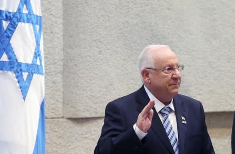 Rivlin sworn in as president, July 23. (photo credit: MARC ISRAEL SELLEM/THE JERUSALEM POST)