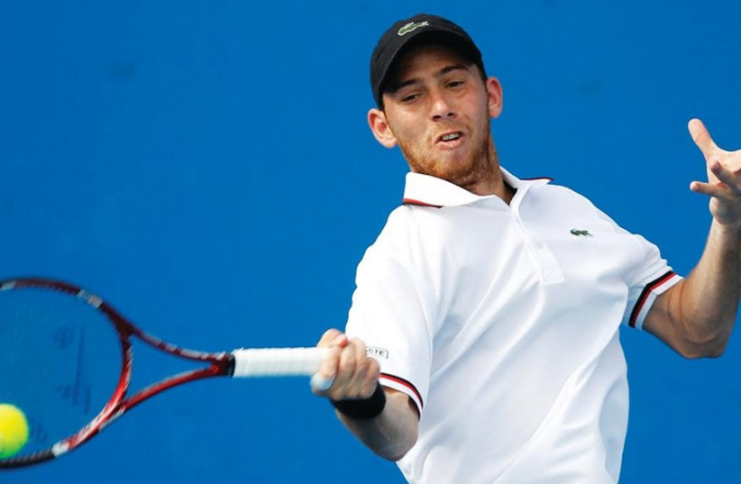 Israeli tennis star Dudi Sela (photo credit: REUTERS)
