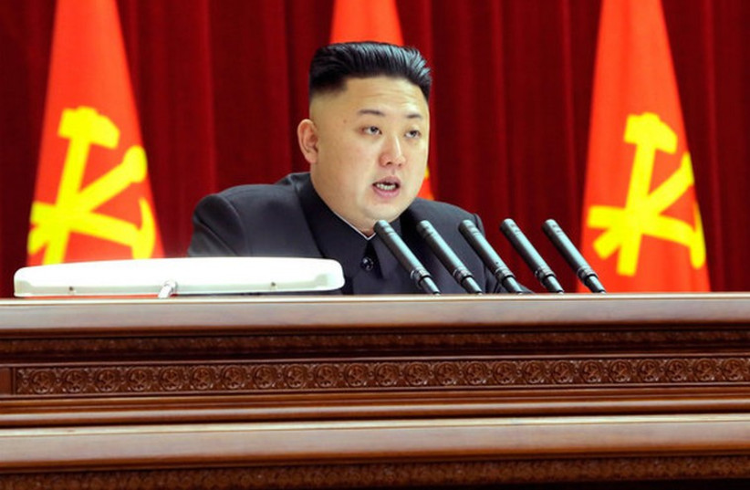 North Korea supreme leader Kim Jong-un (photo credit: REUTERS)