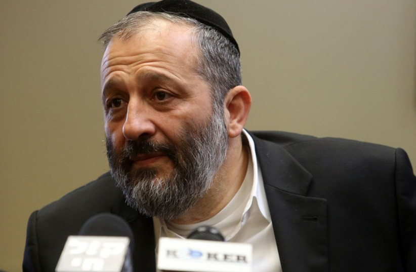 Aryeh Deri (photo credit: MARC ISRAEL SELLEM/THE JERUSALEM POST)