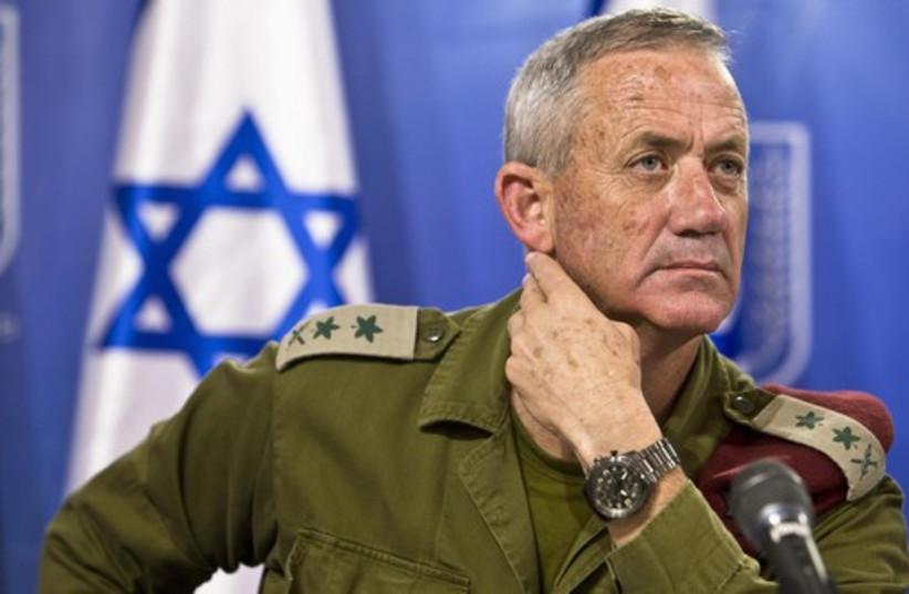 Former IDF chief of staff Lt.-Gen. Benny Gantz (photo credit: REUTERS)