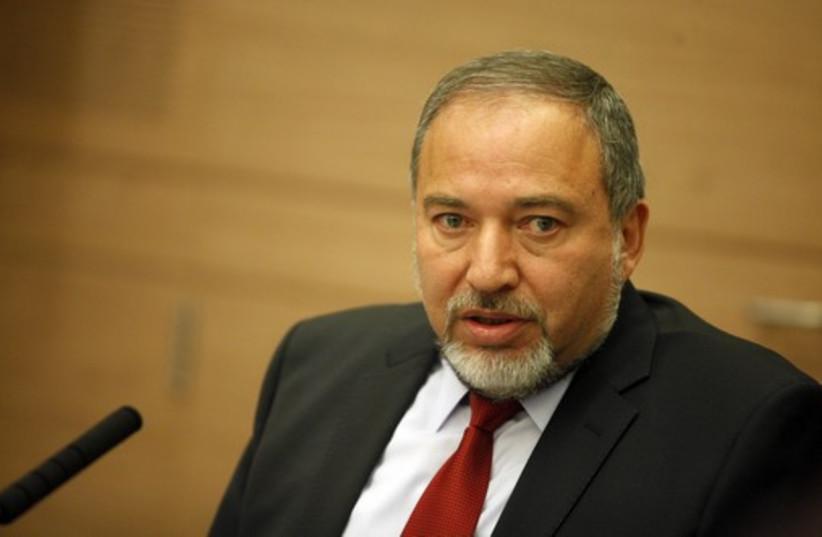 Avigdor Lieberman (photo credit: MARC ISRAEL SELLEM/THE JERUSALEM POST)