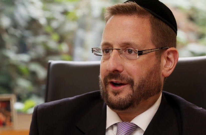 Dov Lipman (photo credit: MARC ISRAEL SELLEM/THE JERUSALEM POST)
