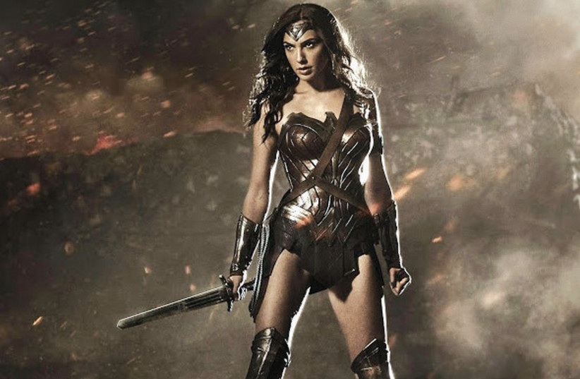 GAL GADOT plays the iconic heroine Wonder Woman in the upcoming 'Batman vs. Superman: Dawn of Justice' (photo credit: ZACK SNYDER TWITTER/WARNER BROS)