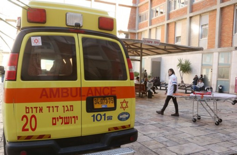 Ambulance (photo credit: MARC ISRAEL SELLEM/THE JERUSALEM POST)