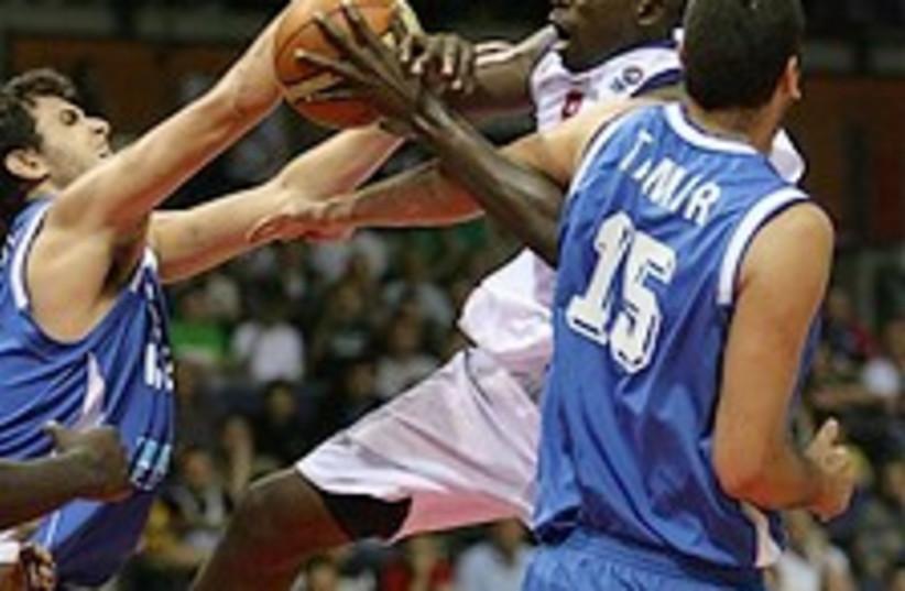 israeli basketball 224.88 ap (photo credit: AP)